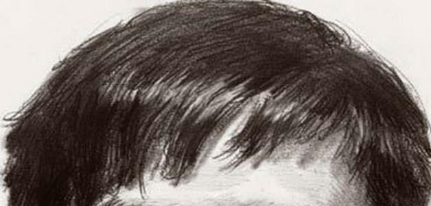 首先,要把头发形体的变化与头骨的结构结合起来,找出头部正面,侧面及
